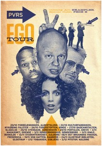 Per Vers EGO Tour poster