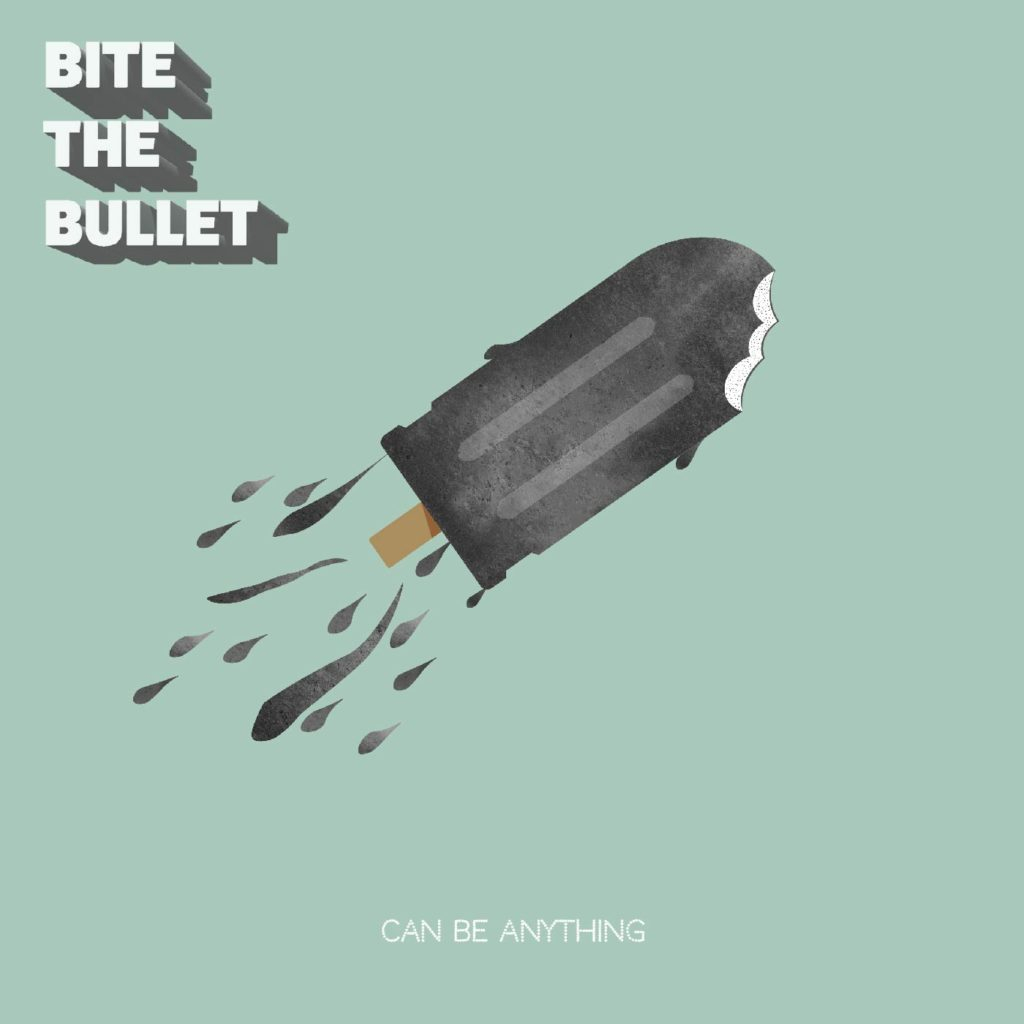 Albumcoveret, Can Be Anything, fra Bite The Bullet