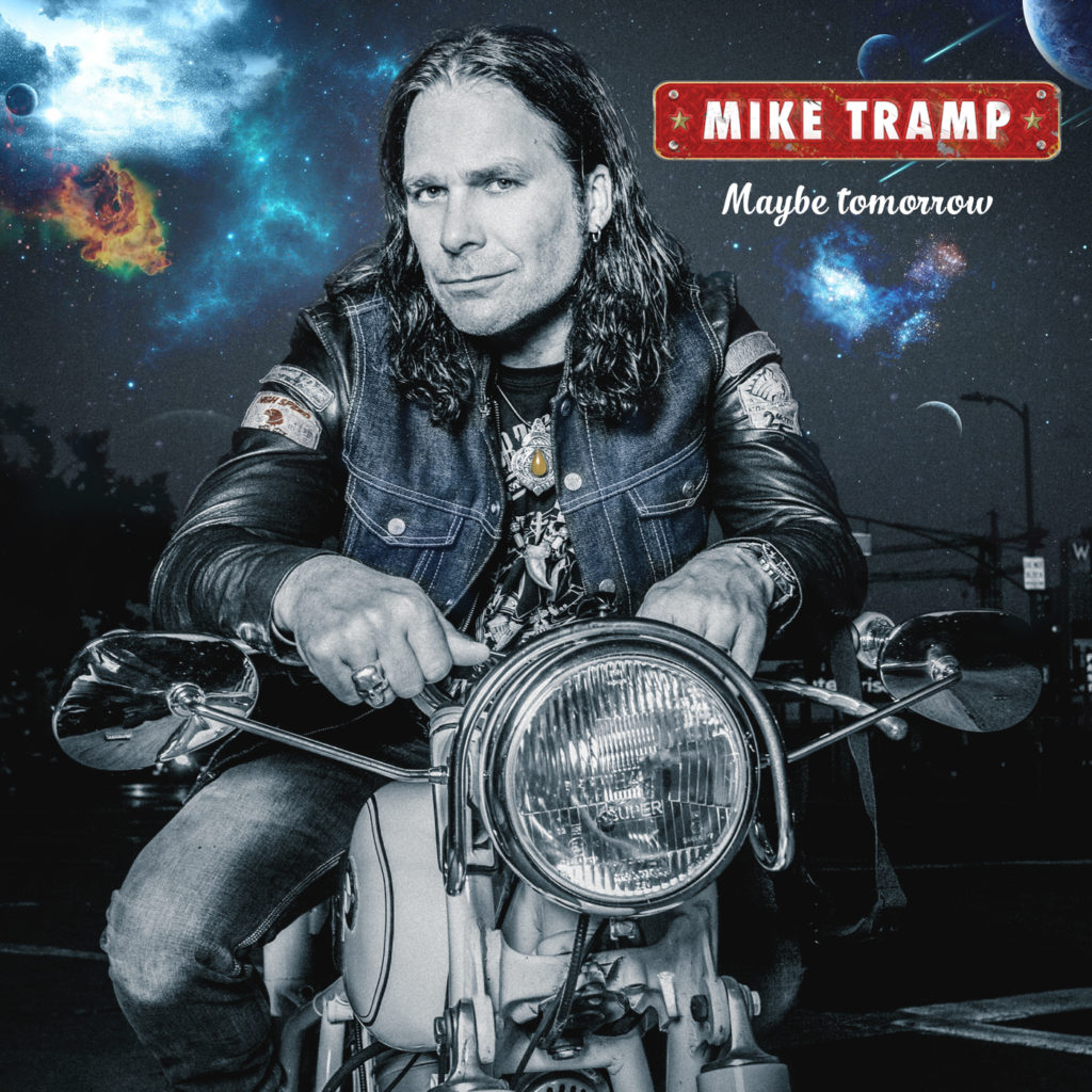 Mike Tramp - Maybe Tomorrow (final album cover) 1400x1400 pixels
